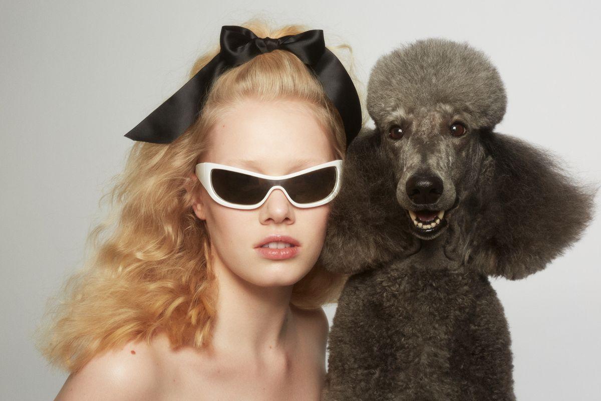 Adam Selman Sunnies Look Great With Cute Animals