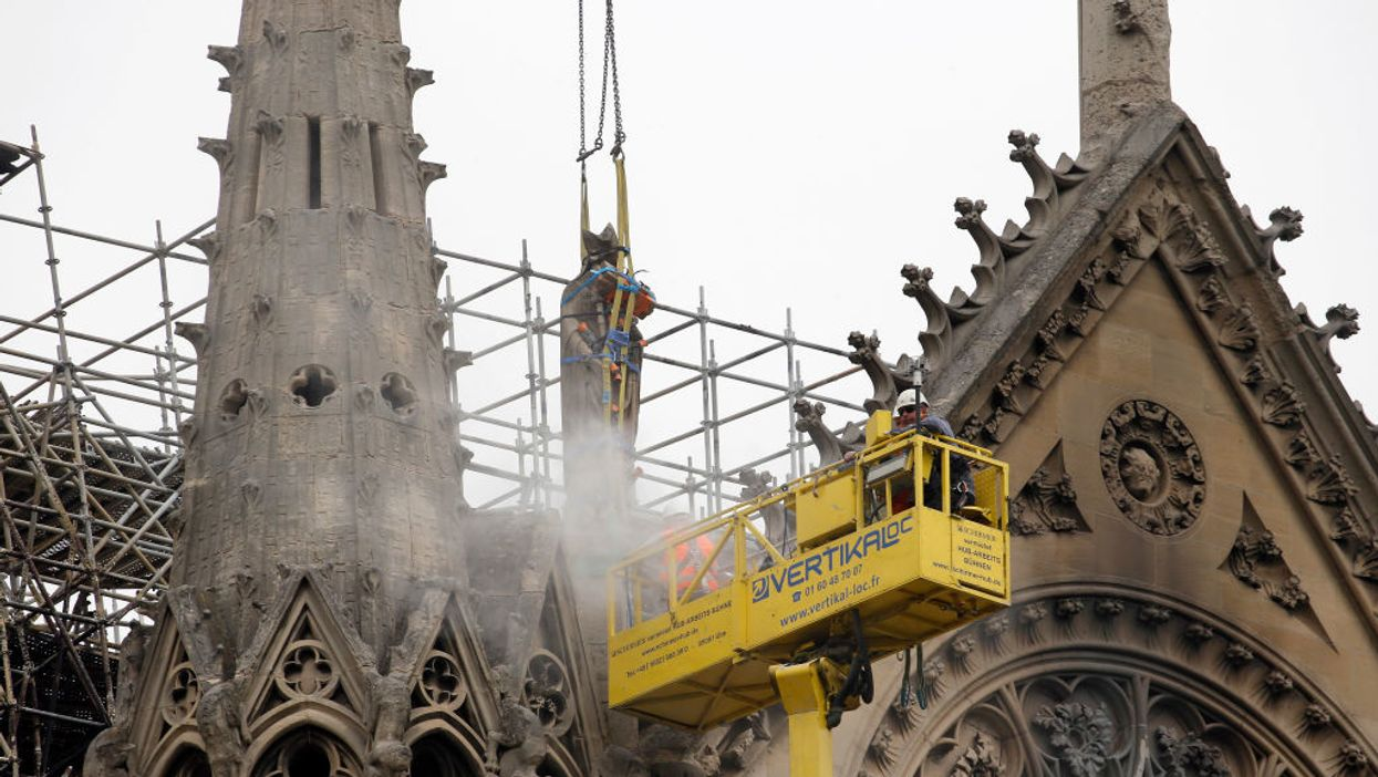 Should France rebuild Notre Dame exactly as it was?