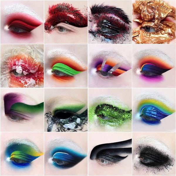 This Makeup Artist Draws Inspo From Natural Disasters and Aliens