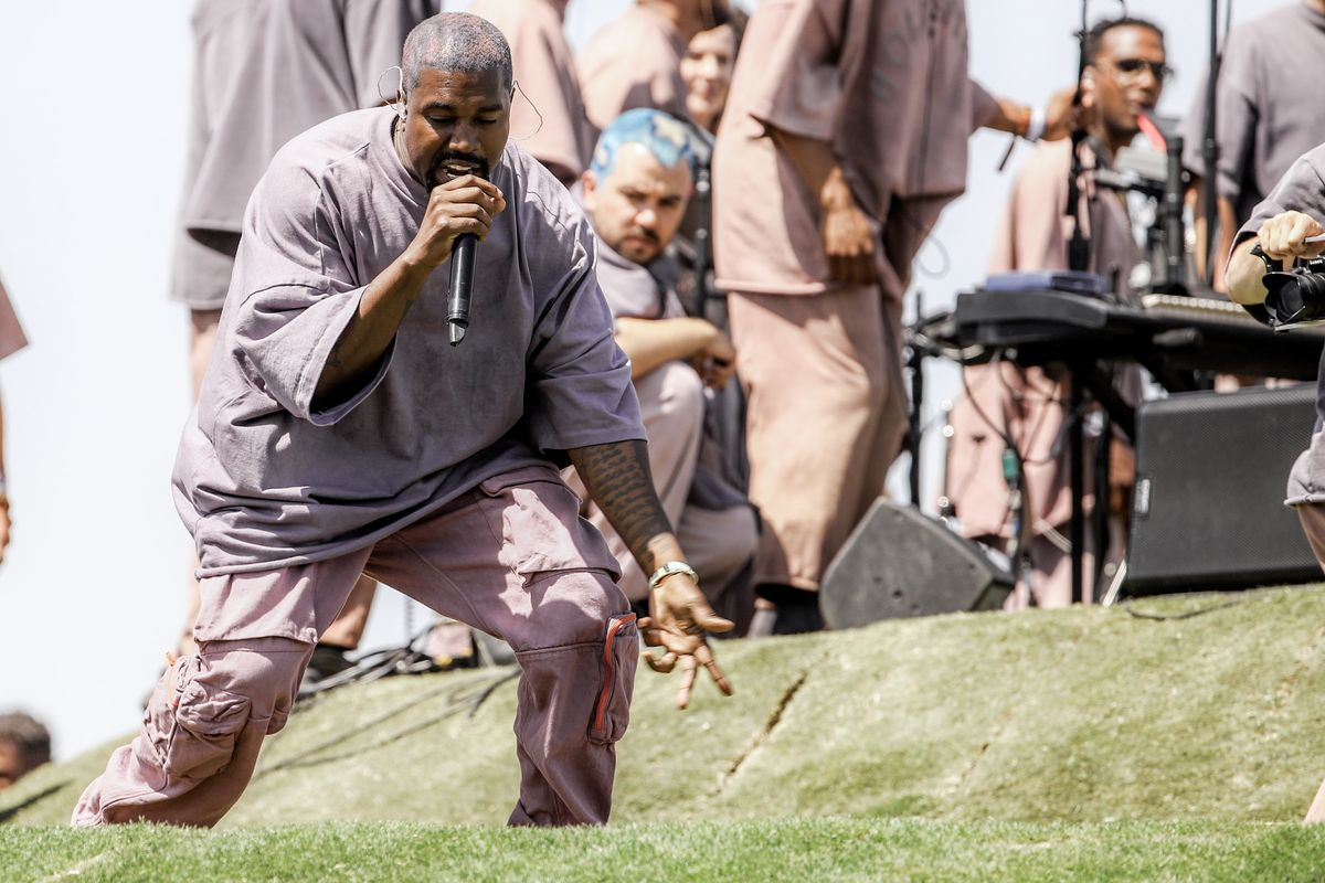 Grass From Kanye West's Coachella Easter Service Is on eBay