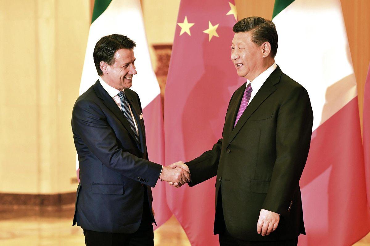 Alla fine Conte porta in Cina il resto dell'Ue