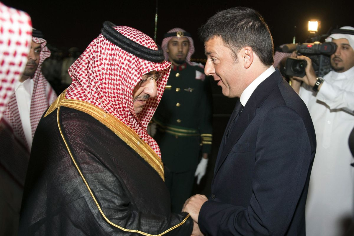 Renzi d'Arabia: il mistero del 25 aprile con il regime saudita