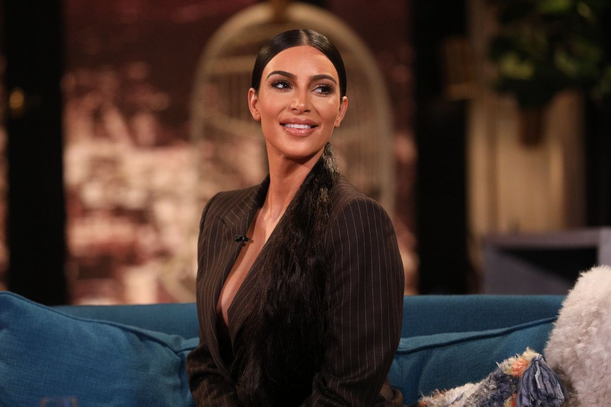 Kim Kardashian Threw a CBD Baby Shower