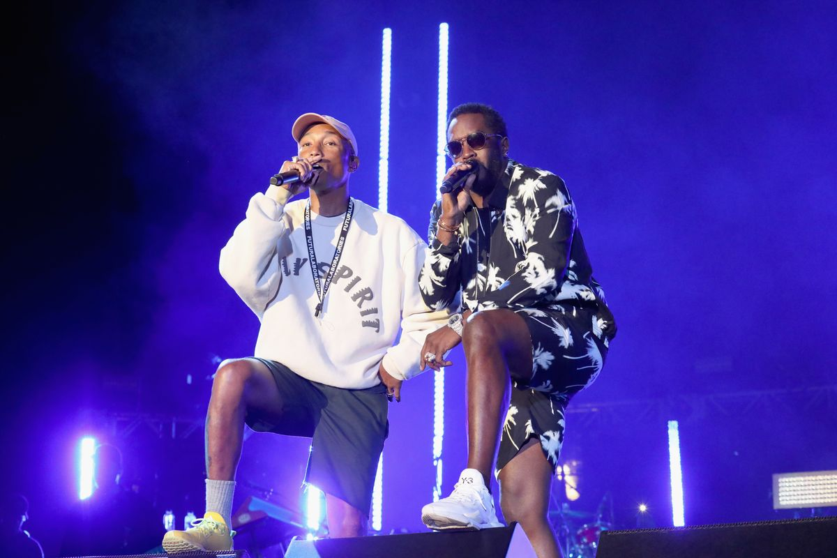 Pharrell's Music Festival Featured All the Rappers