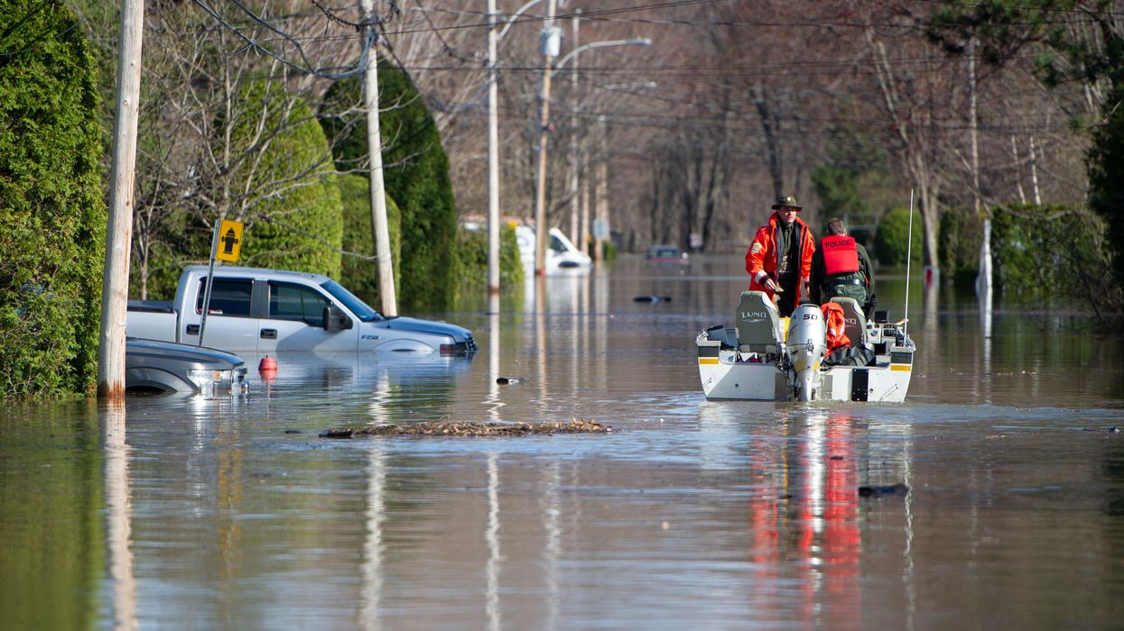 Climate Change Blamed as Flooding Forces Thousands to Evacuate in Canada