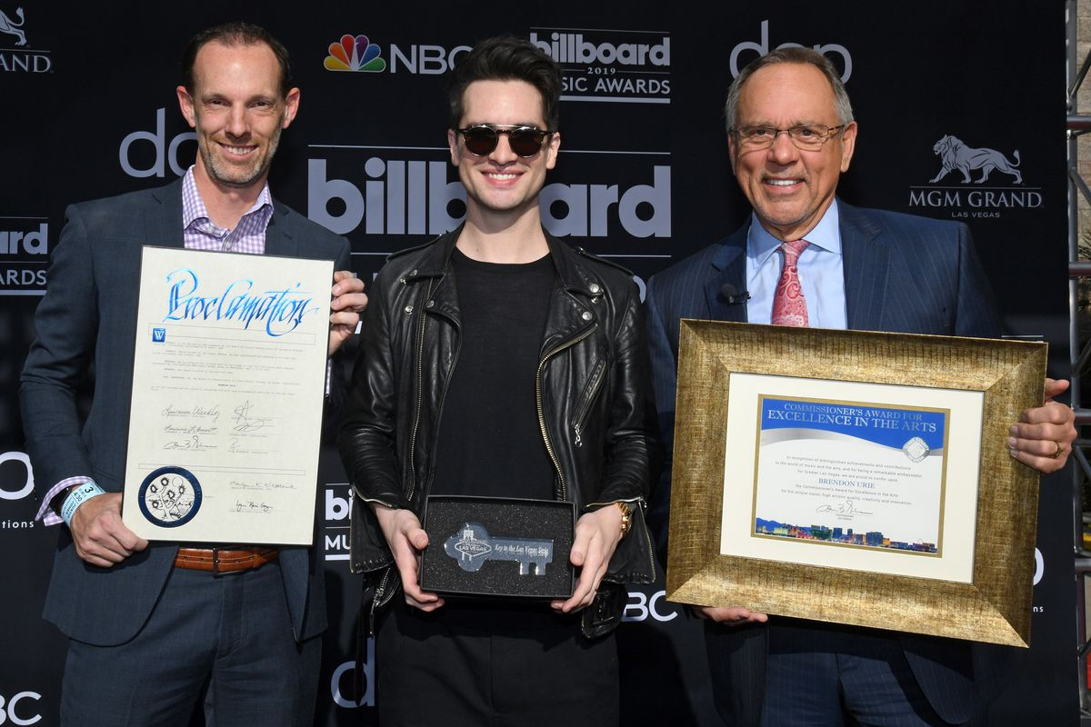 Las Vegas Awards Brendon Urie Key to the City