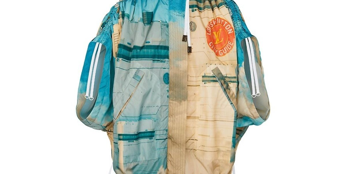 Printed Parka With Gathered Sleeves