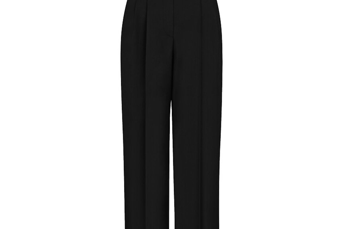 Wide Pant With Side Bands