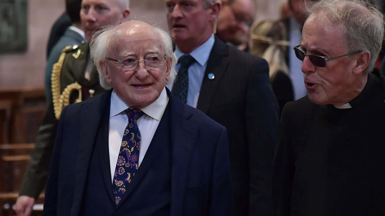 You weren't born just to be 'useful,' Irish president tells students