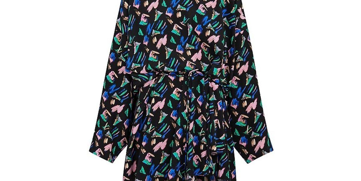 Splash Print Dress