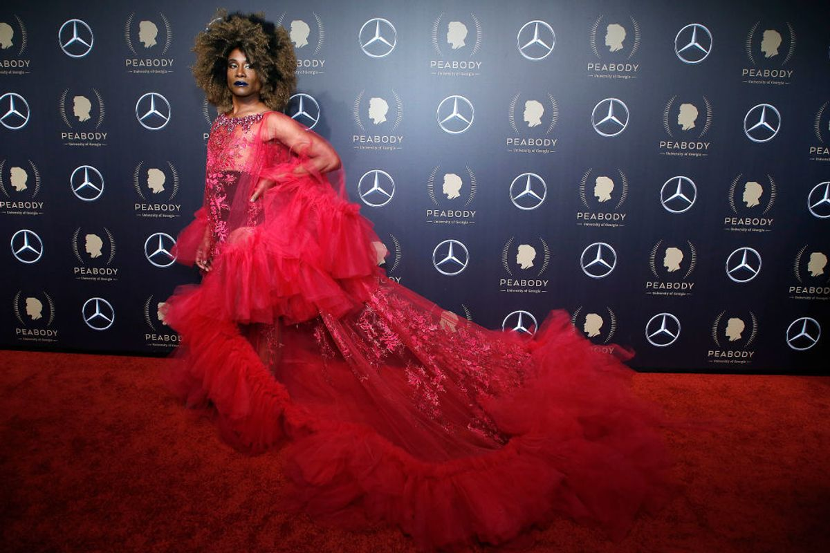 Behind Billy Porter's Decadent, Eco-Friendly Gown