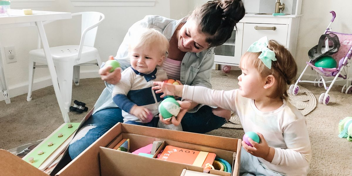 I want my kids to play with toys, but don't like the mess—so I tried Lovevery