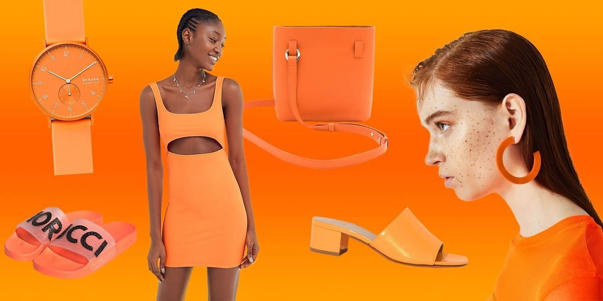 Channel Your Inner Traffic Cone With These Neon Orange Pieces