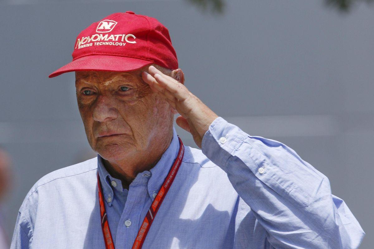 Lauda visse due volte e vinse anche sé stesso