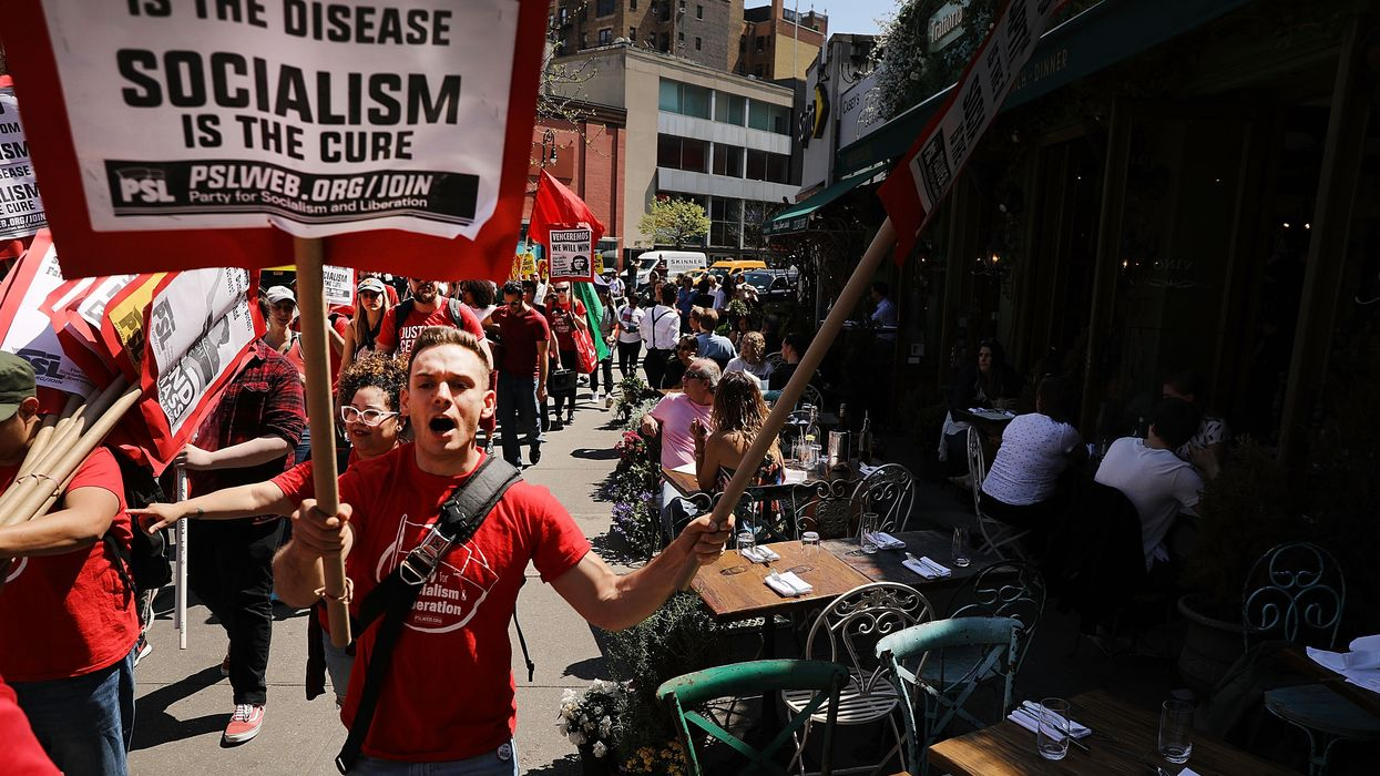 Over 40% of Americans now support some form of socialism
