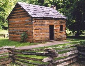 abraham lincoln's childhood home