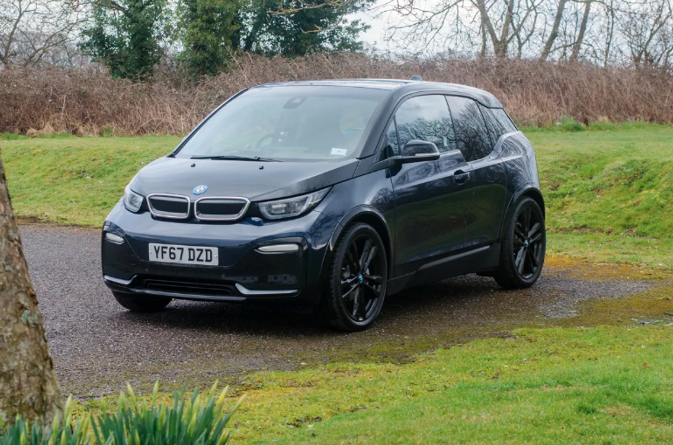 Photo of the BMW i3s electric car