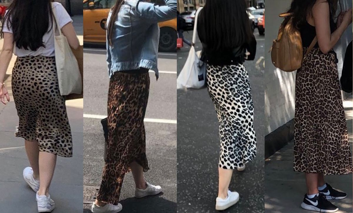 In Defense of the Leopard Print Midi Skirt