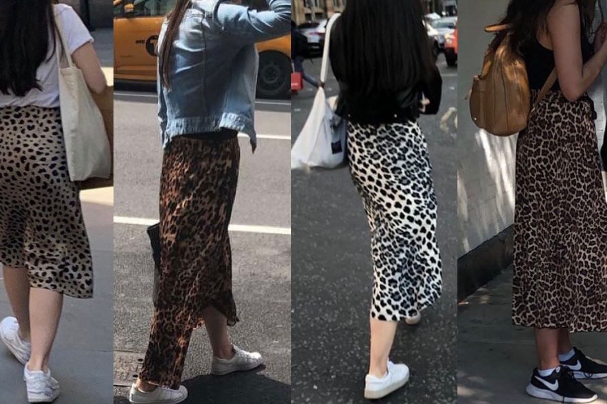 In Defense of the Leopard Print Midi Skirt