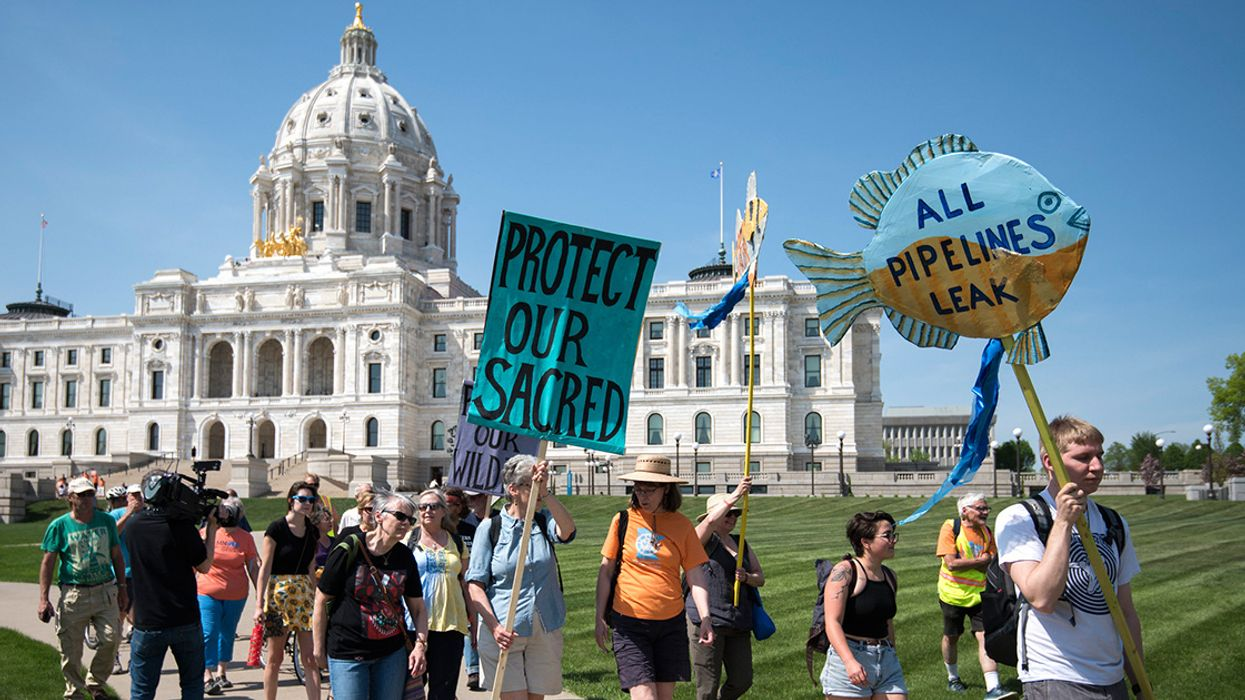 People Power Can Stop the Line 3 Tar Sands Pipeline in Minnesota