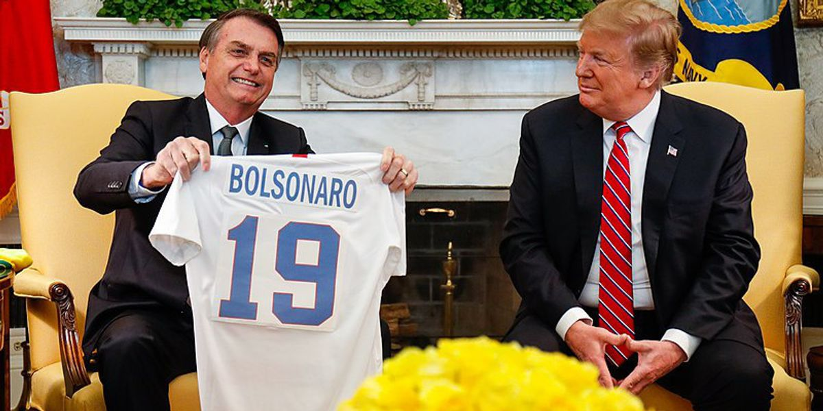 Peter Dykstra: Trump's global soulmates