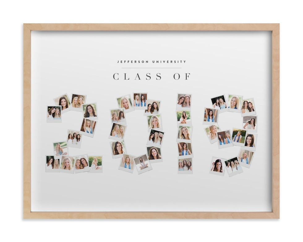 Minted Years Frame