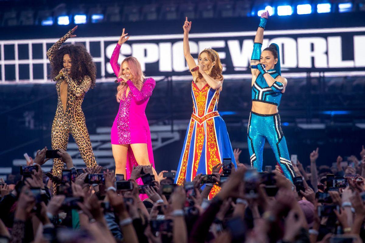 The Spice Girls Take Dublin