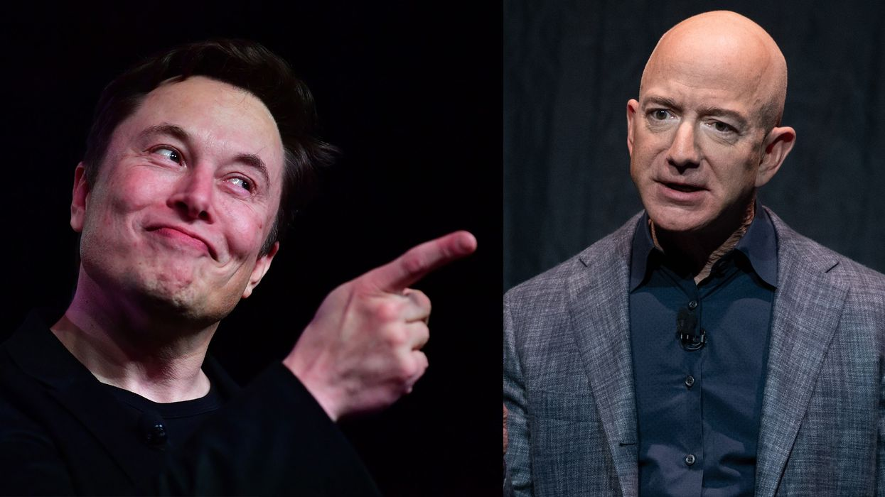 Why Elon Musk doesn't like Jeff Bezos's space colonies