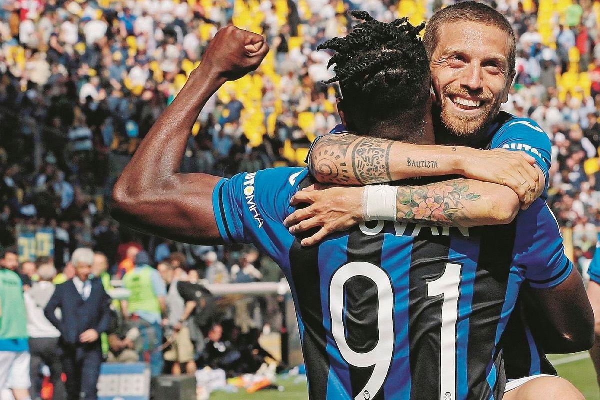 Inter e Atalanta avanti in tandem lasciano il Milan senza Champions