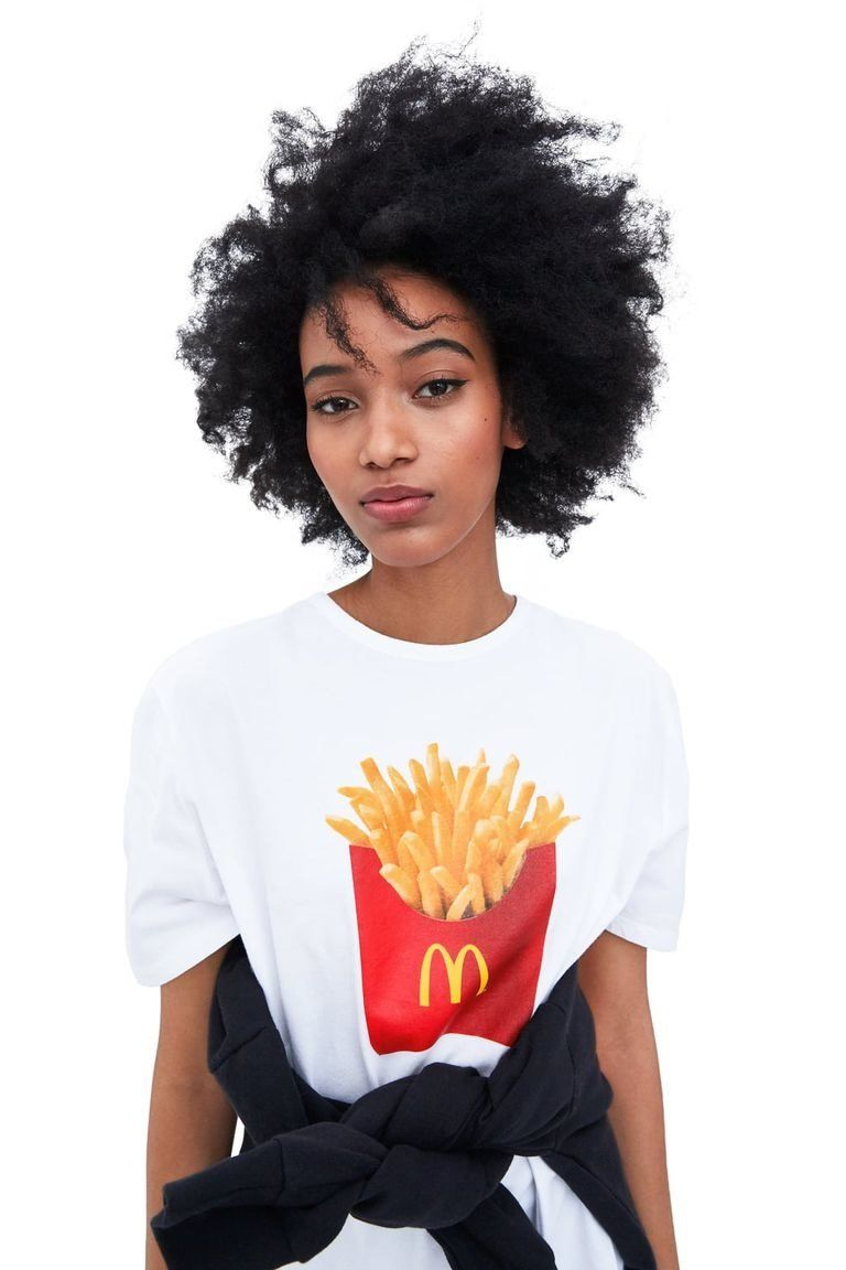 zara camiseta mcdonalds