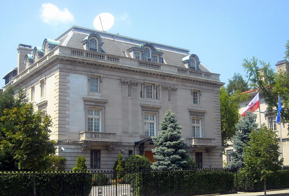 A Tour Around The World Through Embassies