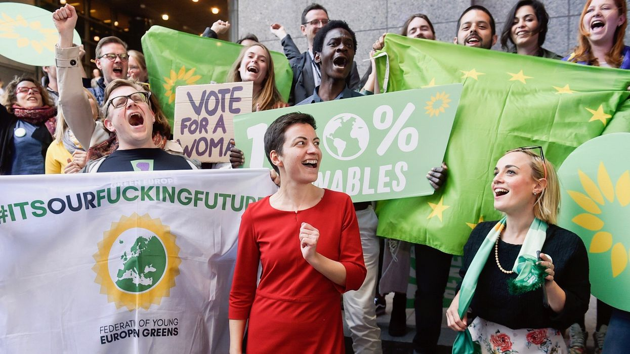 European Greens Gain on Mainstream Parties Over Climate Change