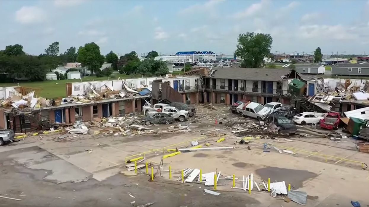 Tornadoes Hit Unusually Wide Swaths of U.S., Alarming Climate Scientists