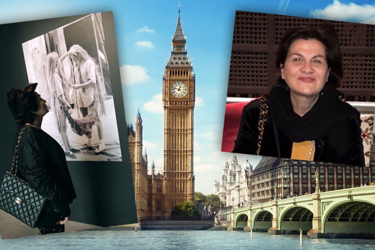 Addio carcere, la Dama Nera di Anas si gode la cultura di Londra