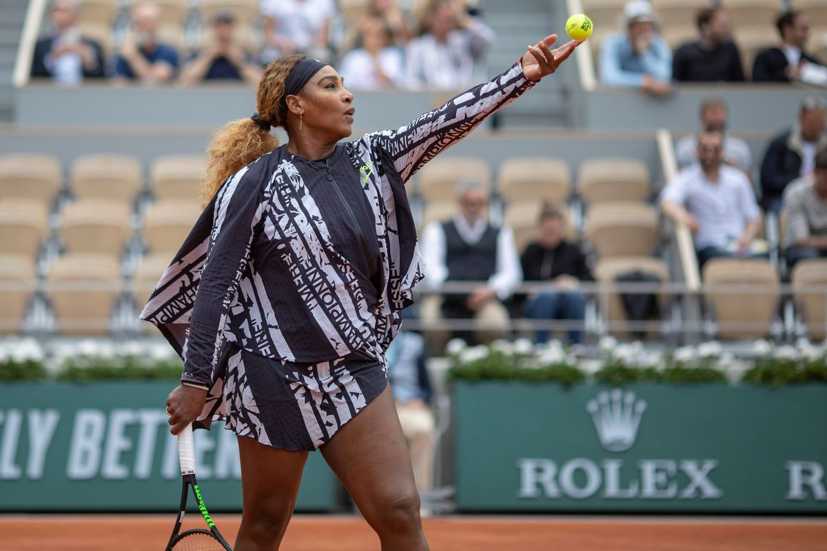 How Serena Williams' Off-White Look Claps Back at the Catsuit Ban