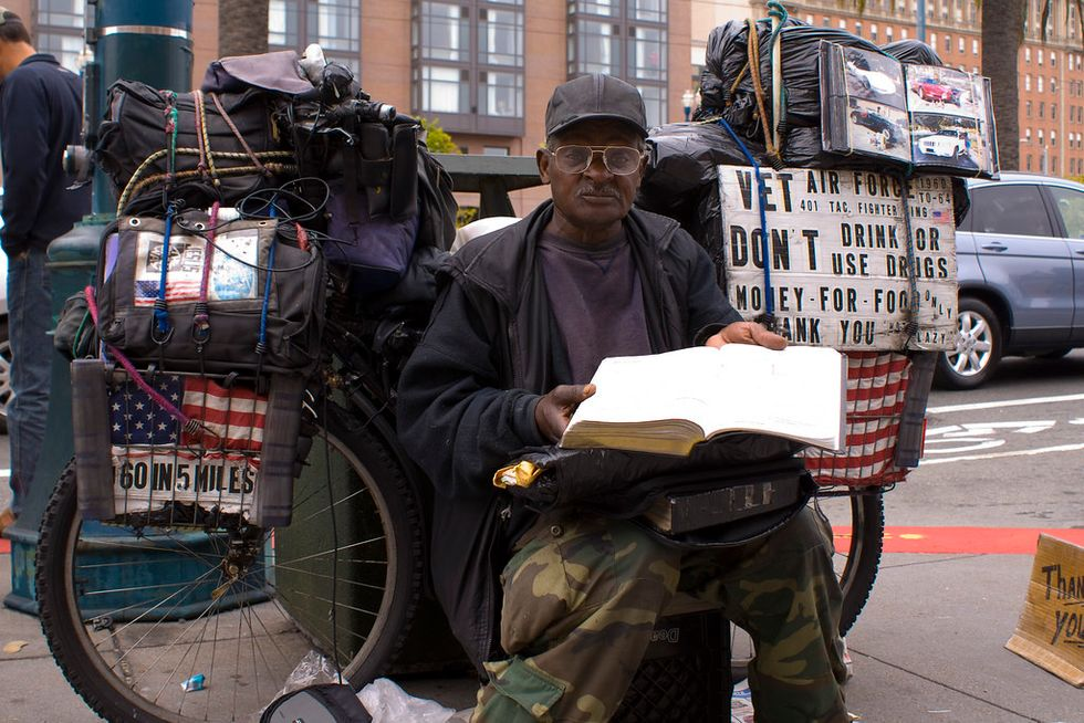 Never Forgotten? America Needs To Remember Its Homeless Vets