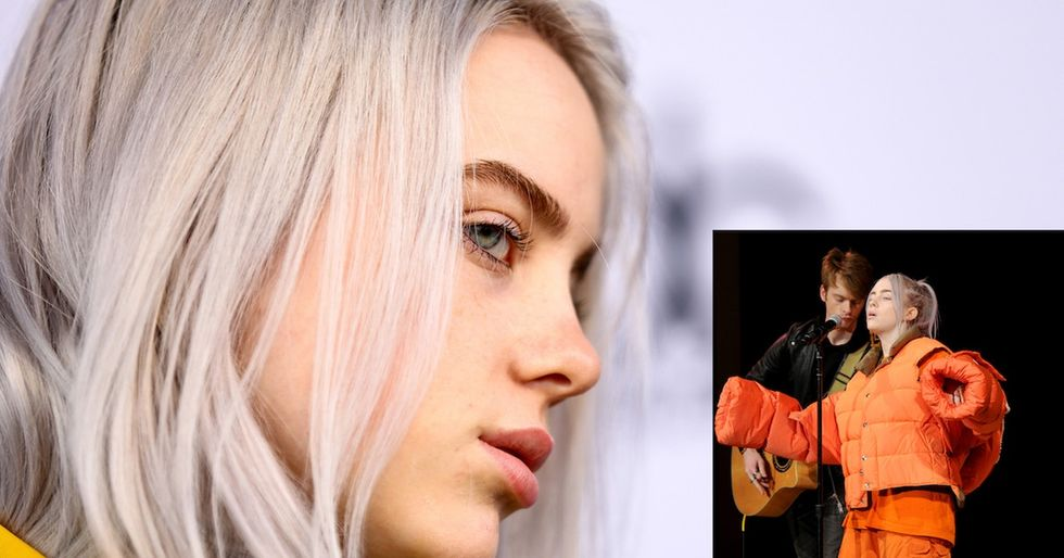Billie Eilish outsmarts body-shaming sexist trolls with her brilliant choice of clothing.