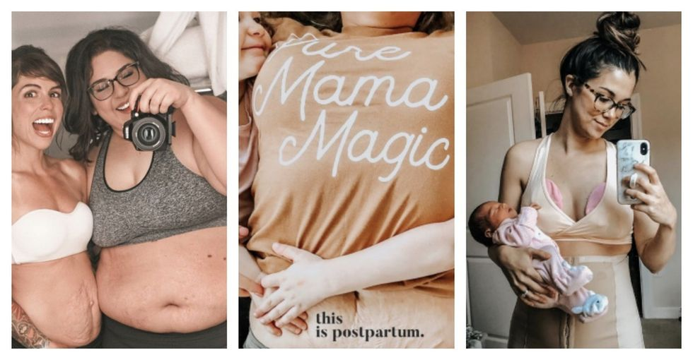 These moms are flaunting their stunning postpartum bodies on Instagram.