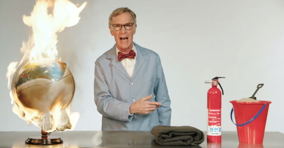 Bill Nye just gave a blistering, adults-only lesson on climate change.