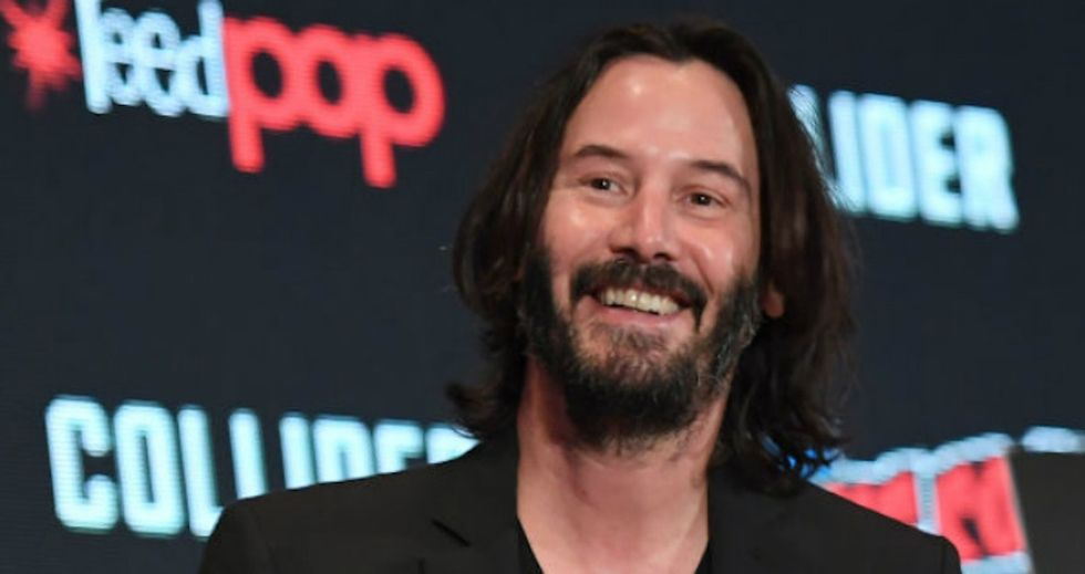 """Keanu Reeves was asked what happens """"after we die."""" His answer is blowing everyone's minds."""