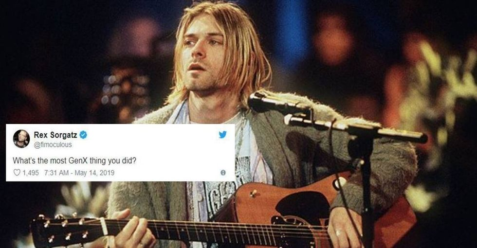 Someone asked Twitter, 'What's the most Gen X thing you ever did?' and the responses were awesome.