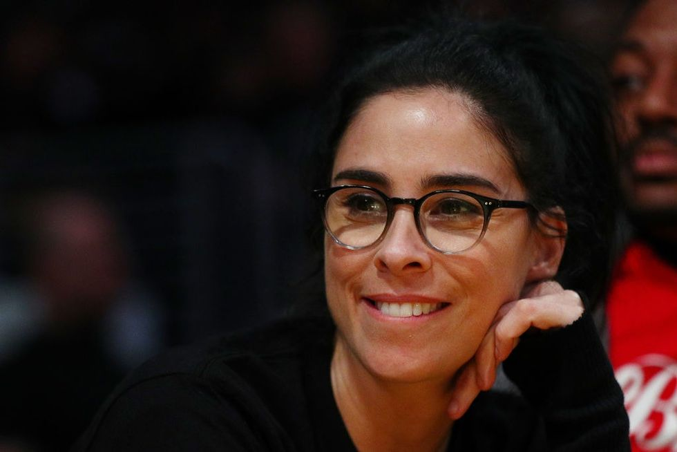 After Instagram deleted her topless photo, Sarah Silverman responded with the perfect post
