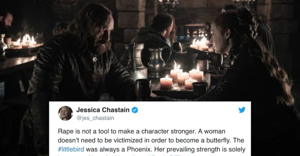 GoT's controversial 'lesson' on how rape can shape a person sparked a great conversation with fans.