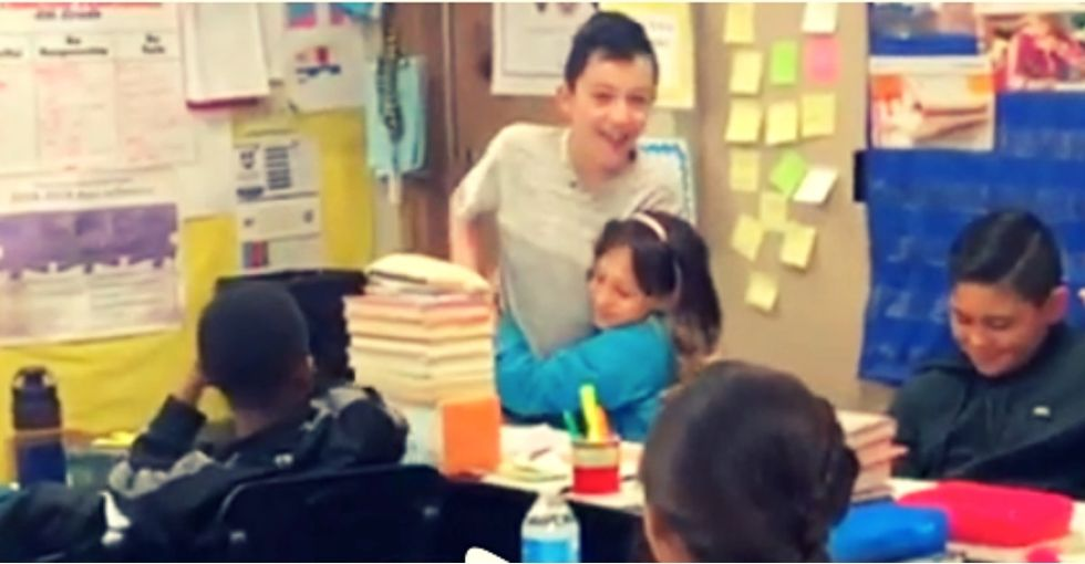 A 4th-grader explains to class what having autism is like. The teacher was stunned by their reaction.