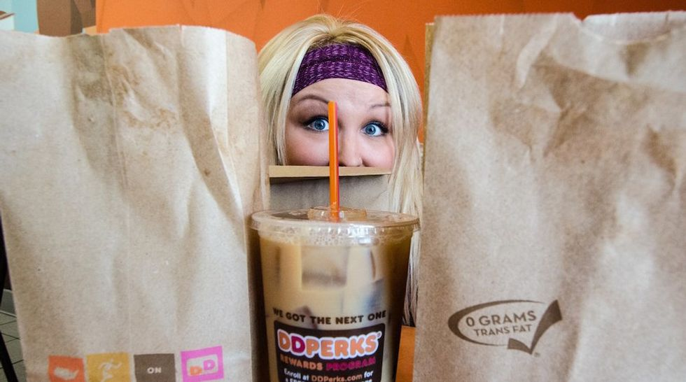 7 Signs  You're Addicted To Dunkin' Donuts