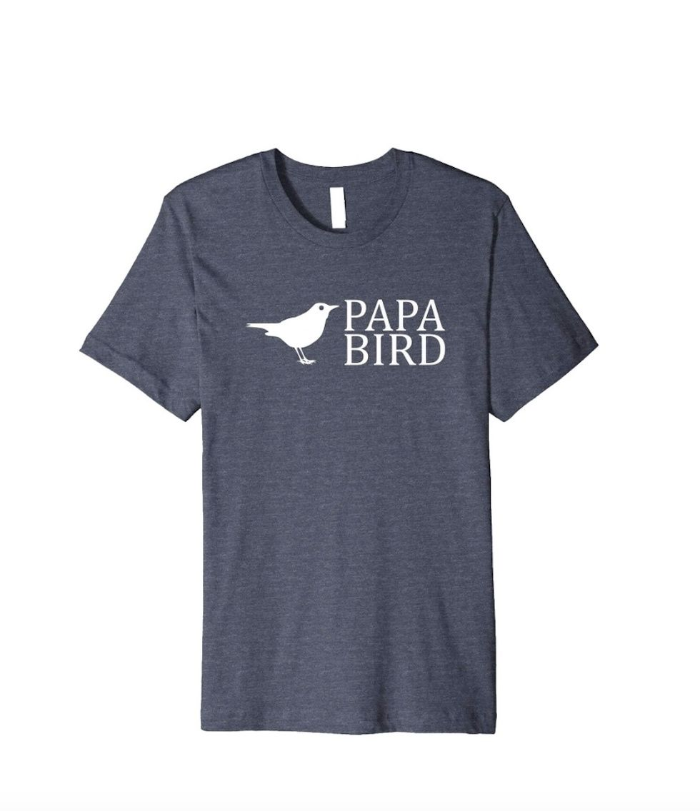 Papa Bird Amazon T-Shirt