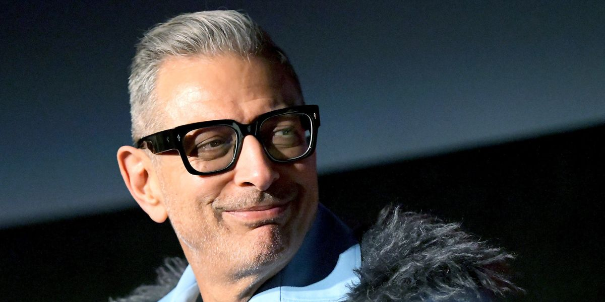 Jeff Goldblum Pivots to Beauty Influencing