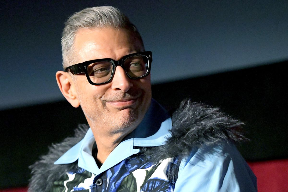 Jeff Goldblum Pivots to Beauty Influencing