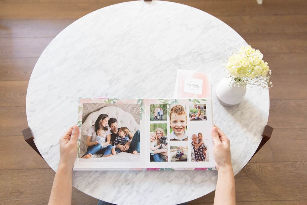Mixbook family photo book