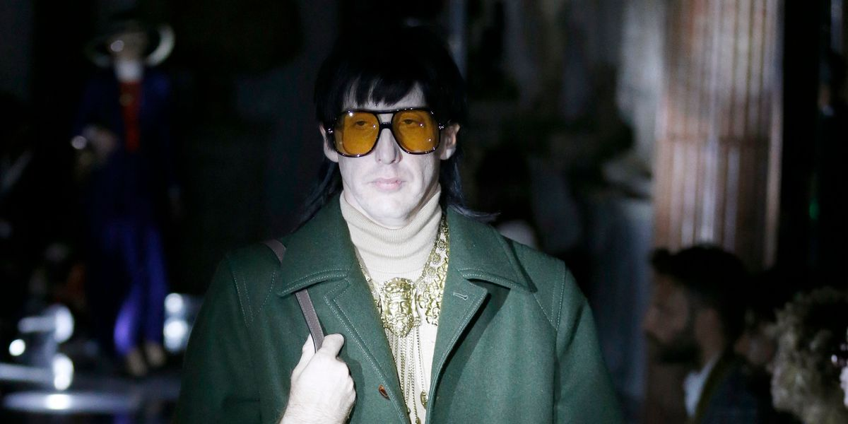 Guess Which Indie Rock God Walked for Gucci?